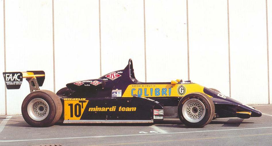 Minardi M281b